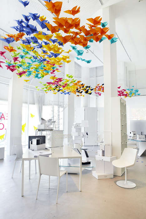 Chromatic Butterfly Installations