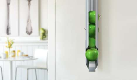 Wall-Mounted Fruit Bowls