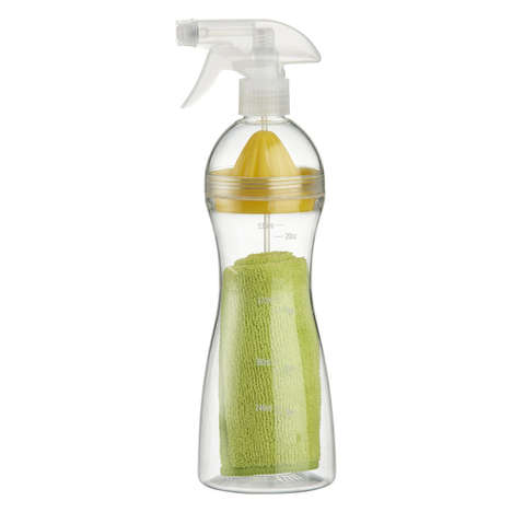 Lemon Squeezer Cleaning Bottles