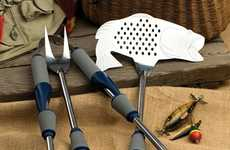 Fishing-Inspired Barbecue Tools - These Backyard Accessories are the Perfect Addition for the Angler