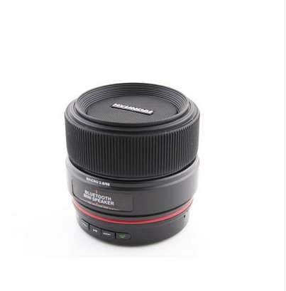 Camera Lens Speakers
