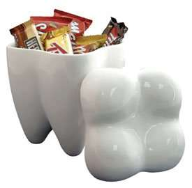 Tooth-Shaped Candy Containers