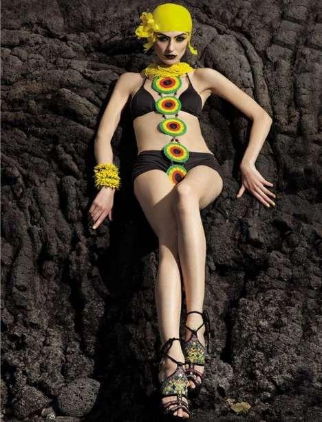 Futuristic Beach-Side Editorials