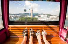 Traveling Feet Photography - Tom Robinson Cleverly Captures His Travels with His Toes