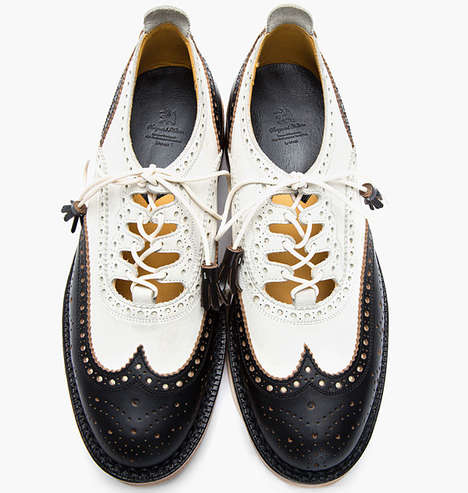 Delicately Decorated Low Tops