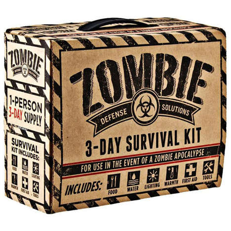 Apocalyptic Survival Packages - The 'Zombie Defense Solutions: 3-Day Survival Kit' is Practical