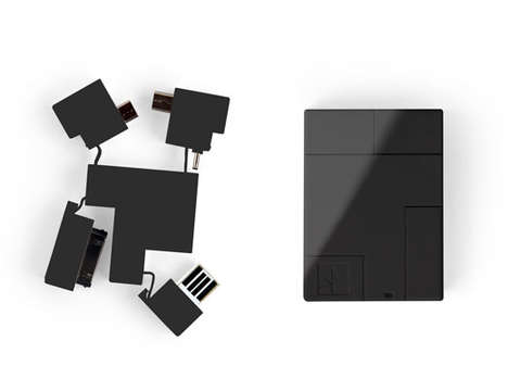 Puzzle Block Storage Devices