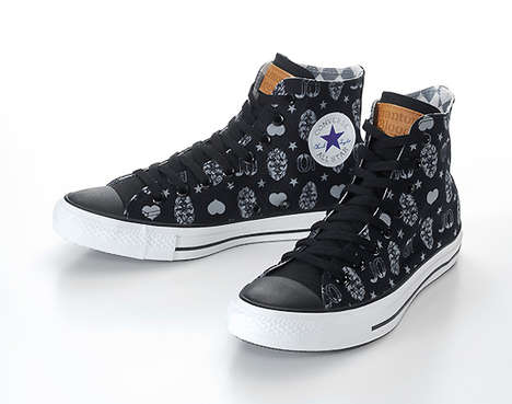 Japanese Comic Book Sneakers