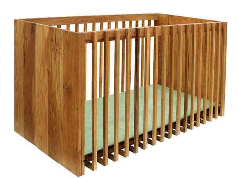 Desk-Transforming Cribs