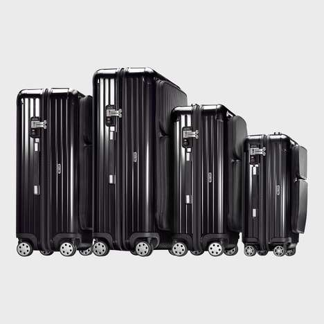 Pocketed Hardcase Luggages