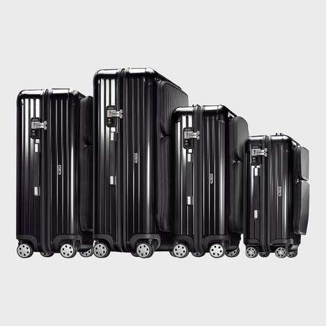 Pocketed Hardcase Luggages