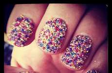 Textured Manicure Sprinkles - This Nail Polish by Mad Beauty Coats Your Finger Nails In Confetti