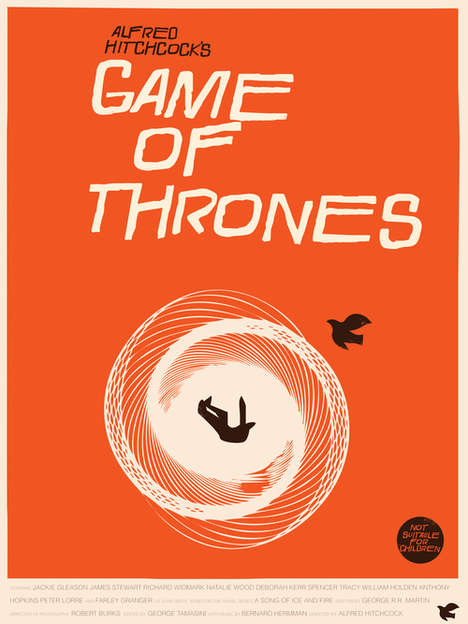 Retroized Medieval Posters - Designer Fernando Reza Created These Retro Game of Thrones Posters