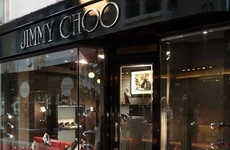 Haute Men's Shoe Shops - The New Jimmy Choo Men's Boutique in London Gives Gents a Taste of Lu