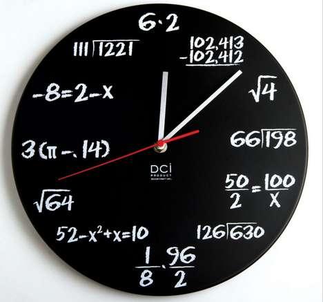 Math Knowledge-Testing Clocks