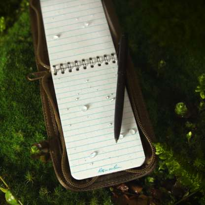 Waterproof Writing Equipment - The Outdoor Journal Kit by Rite in the Rain Lets You Write Anywhere