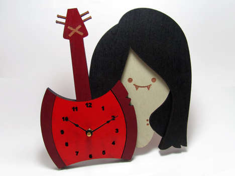 Charismatic Cartoon Clocks