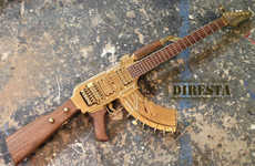 Golden Gun-Constructed Guitars - Wycleaf Jean's Guitar Gun Aims to Start a Revolution