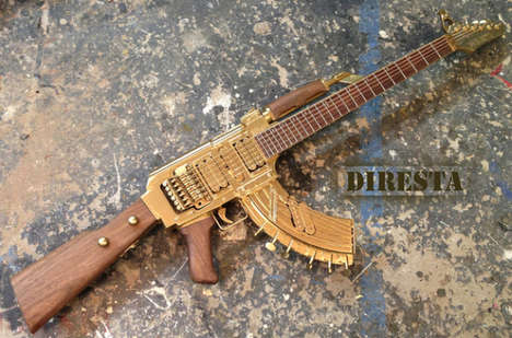 Golden Gun-Constructed Guitars