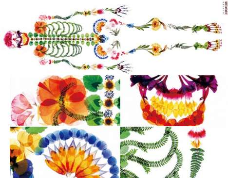 Funerary Floral Arrangement Ads