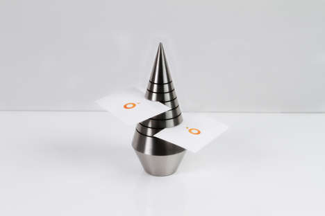 Conical Card Holders