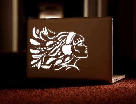Glowing Laptop Designs