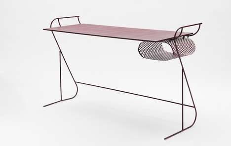 Perforated Steel Table Frames