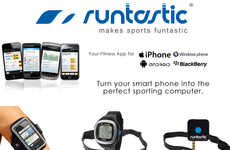 Compatible Exercise-Monitoring Devices - The Runtastic GPS Watch Has Functional Tracking Technology