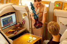 Airline Shisha Services - Emirates Airlines Now Offers Passengers Everything from Spas to Shisha