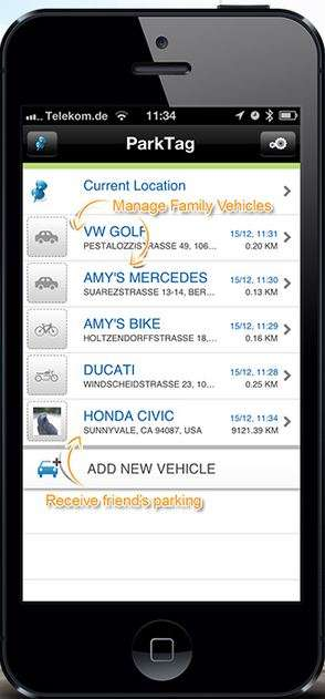 Social Network Parking Apps