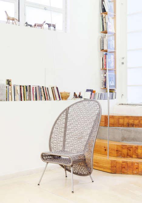 Webby Weaved Seating