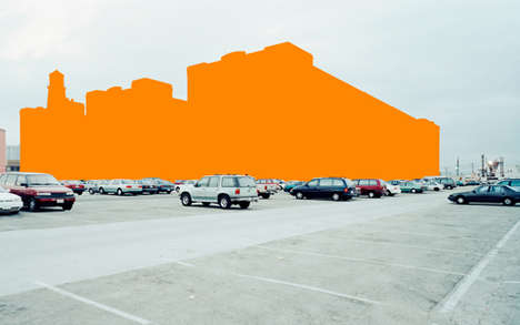 Urban Color-Blocked Photography