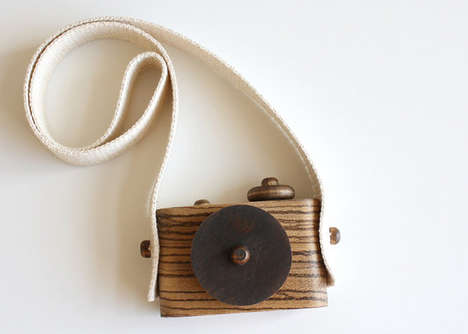 Timber Toy Cameras - For the Little Photographers, 'Twig Exotics' are the Perfect Wooden Subsitute