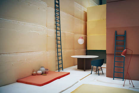 Proportional Perspective Photos - Andrea Ferrari Captures Interiors with a Strikingly Surreal Flair