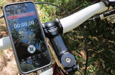 Smartphone-Savvy Cycling - The Quad Lock Bike Mount Kit for iPhone5 Ensures All-Weather Visibility