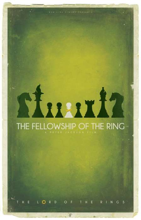 Chess-Incorporated Fantasy Posters