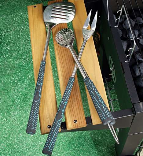 Practise Your Swing While You Grill for Your Family and Friends