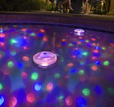 Underwater Light Shows - This Clever Gadget Will Turn Your Pool Party Into a Sensation