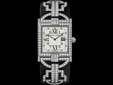 Extravagant Diamond-Encrusted Watches