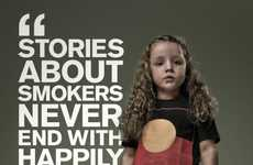 Second-Hand Smoking Ads - The Drug & Alcohol Services South Australia Campaign Encourages Health