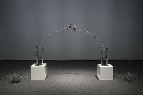Robotic Love Sculptures