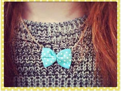 Miniature Menswear Necklaces
