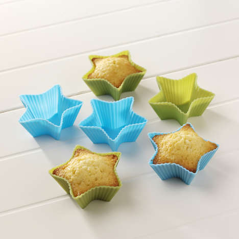 Cute Silicone Cupcake Molds
