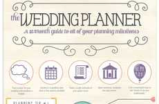 Perfect Wedding Planning Guides - This Chart Outlines How to Prepare for Your Upcoming Ceremony