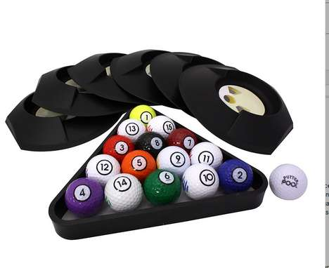 Golf Billiards Hybrid Games