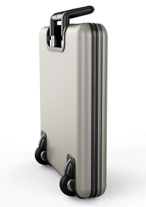 Compressed Luggage Designs