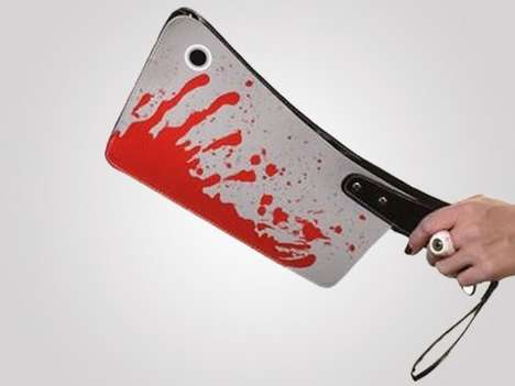 Blood-Covered Clutch Bags