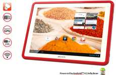 21st Century Cookbooks - The Archos ChefPad Puts Recipes and Beyond at Your Fingertips