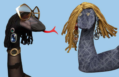 Sock Puppet Accessory Editorials
