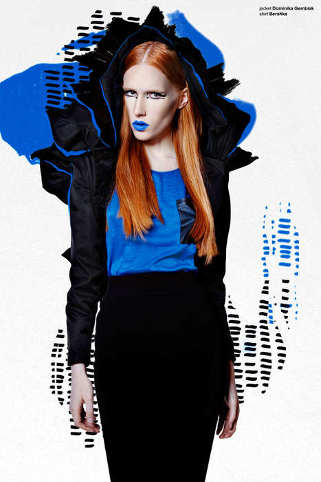 Sketch-Infused Style Editorials